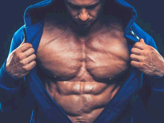 muscular men need more protein